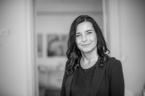 Receptionist Tina Magnusson