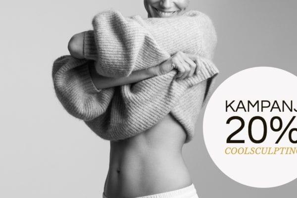 CoolSculptingkampanj inför sommaren 2020