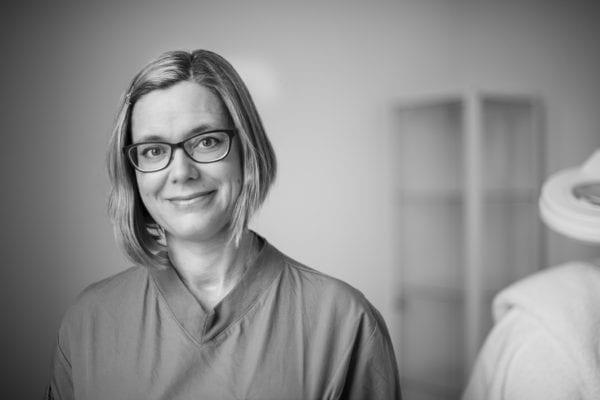 Operationssjuksköterska Cecilia Lidholm