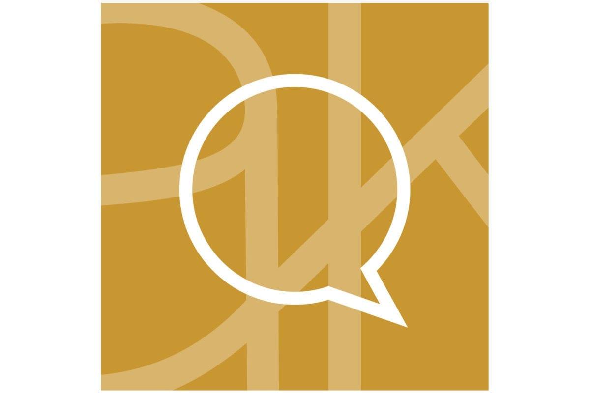 Grafisk mindre logotyp för Akademikliniken app för online konsultation - AK Online