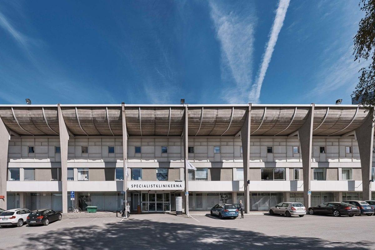 Akademiklinikens huvudklinik vid Storängsbotten